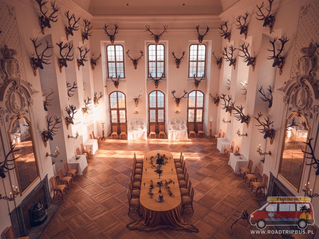 sala z porożami
