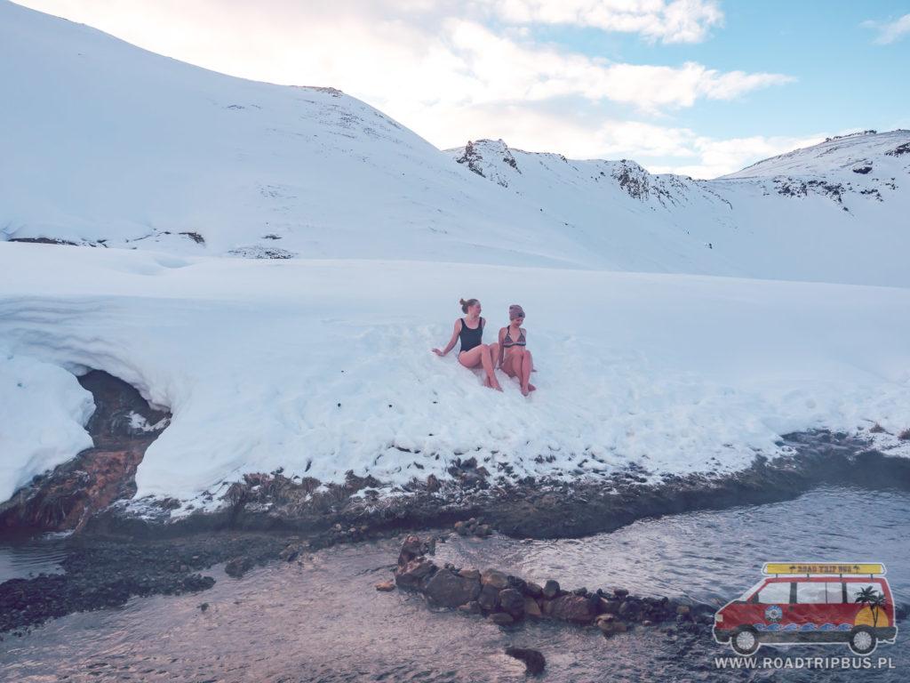 gorąca rzeka na Islandii
