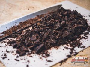 pokrojona czekolada