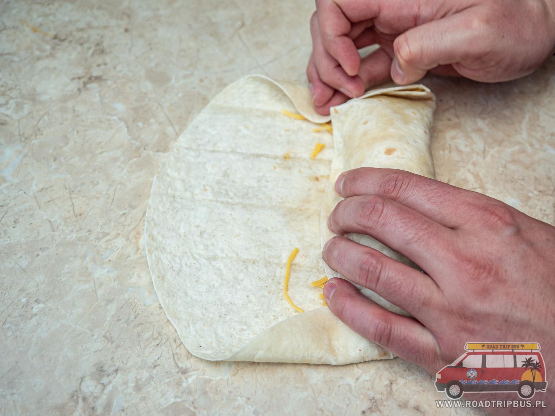 zawijanie burrito