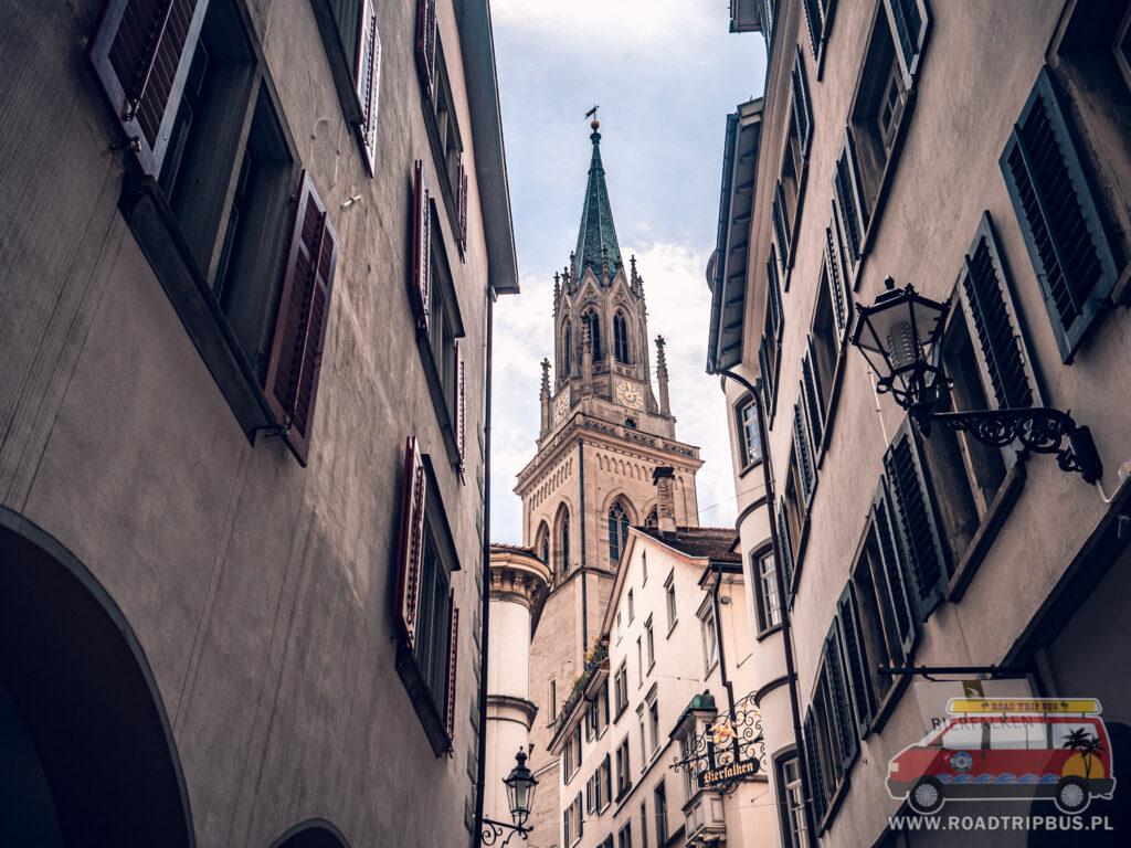 budynki st Gallen