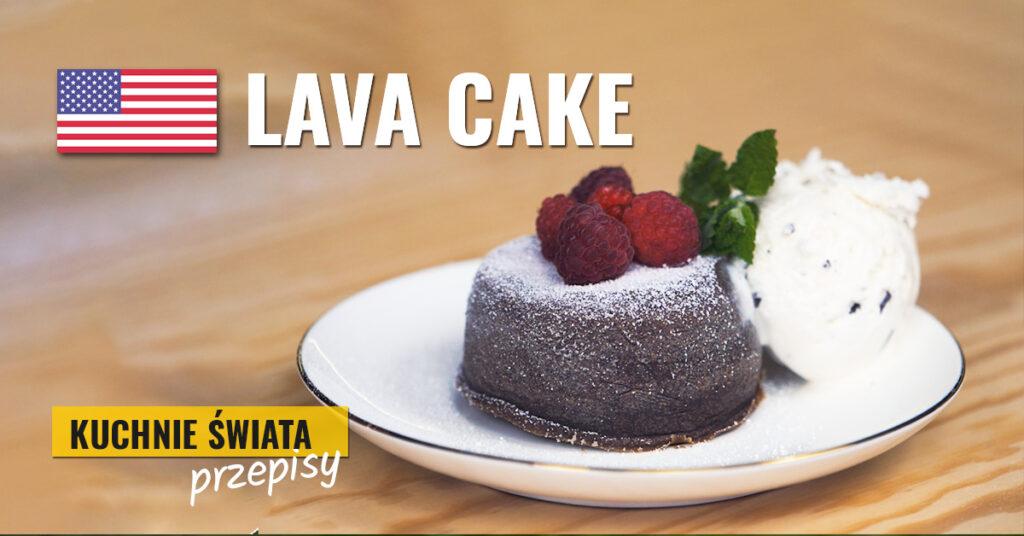 przepis na lava cake