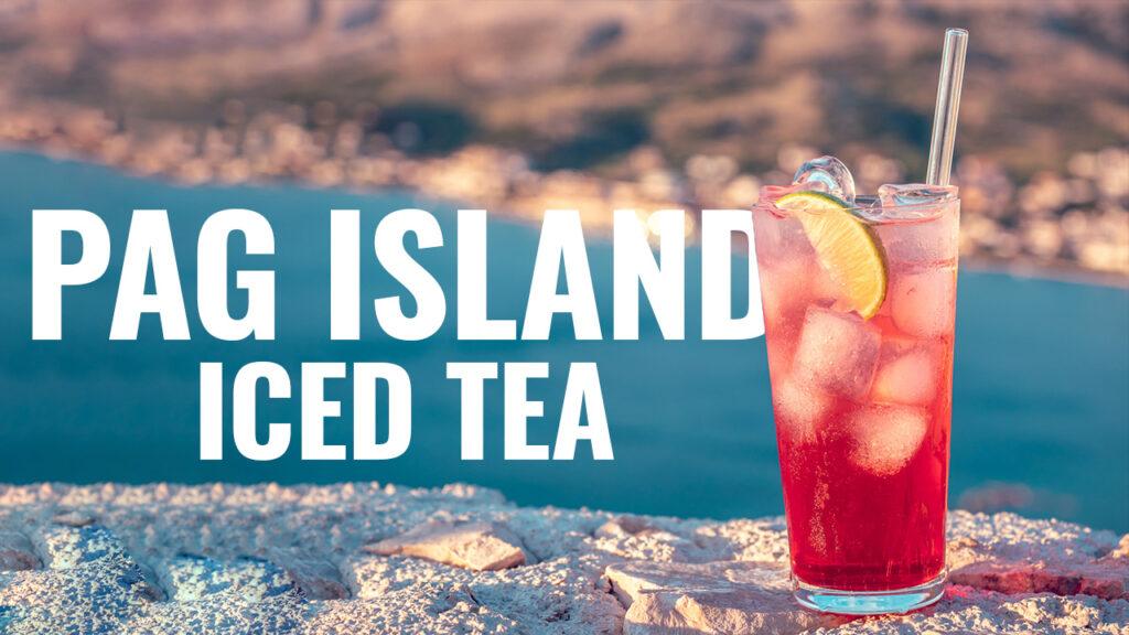 pag island iced tea przepis