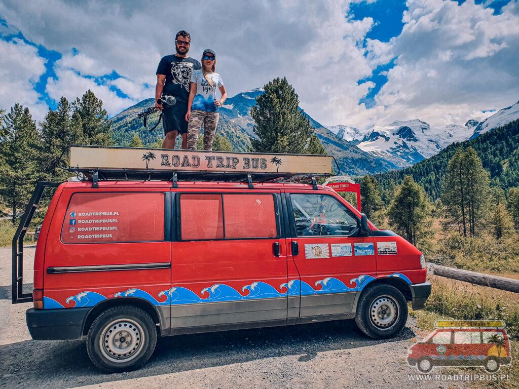 roadtripbus w Szwajcarii