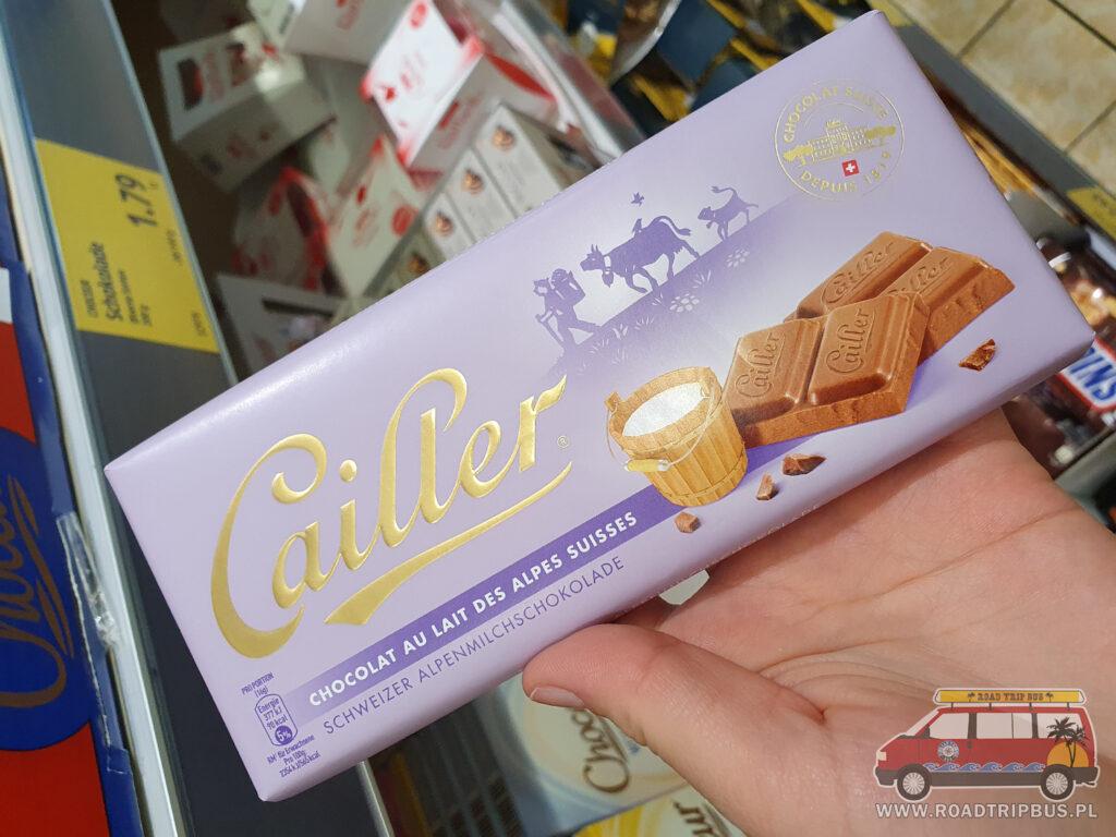 szwajcarska czekolada cailler