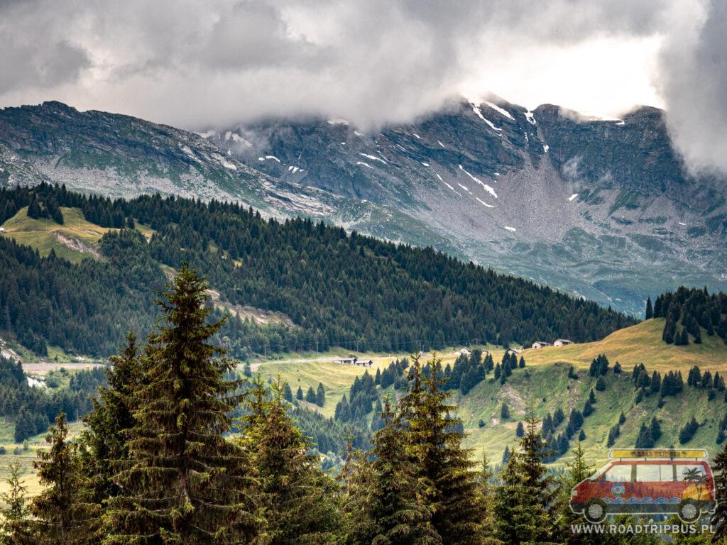widoki w Szwajcarii