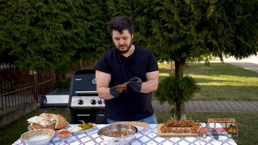 nabijanie kebabu