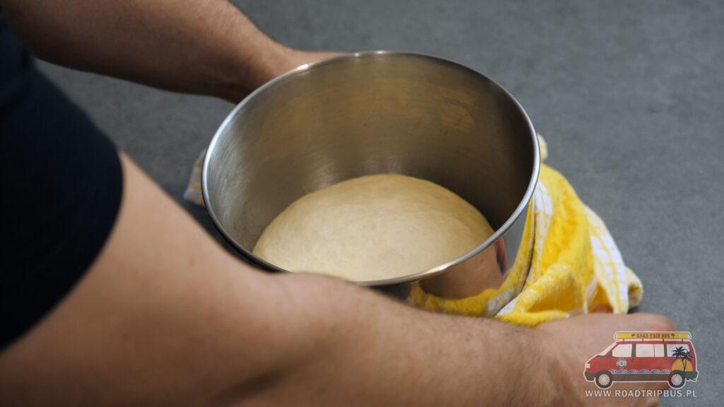 wyrośnięte ciasto
