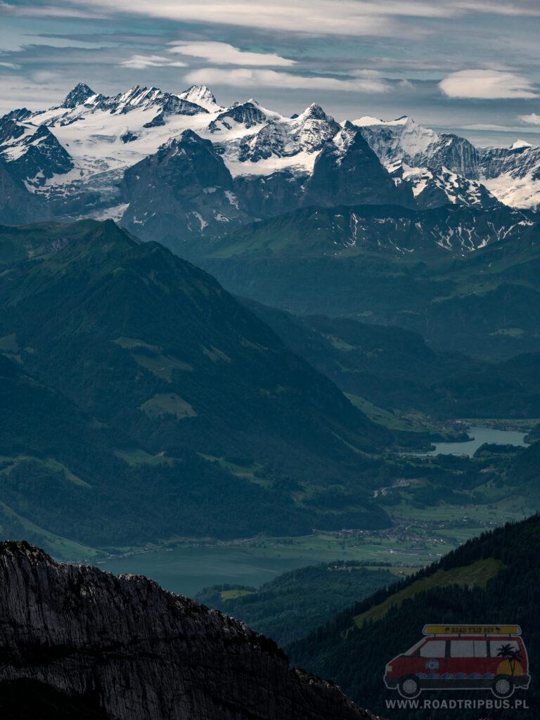 widok na alpy
