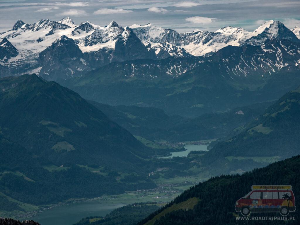 alpy widziane z pilatusa