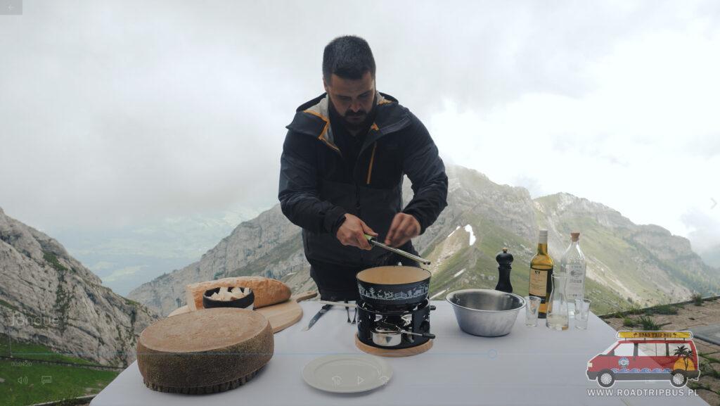 gałka muszkatołowa do fondue