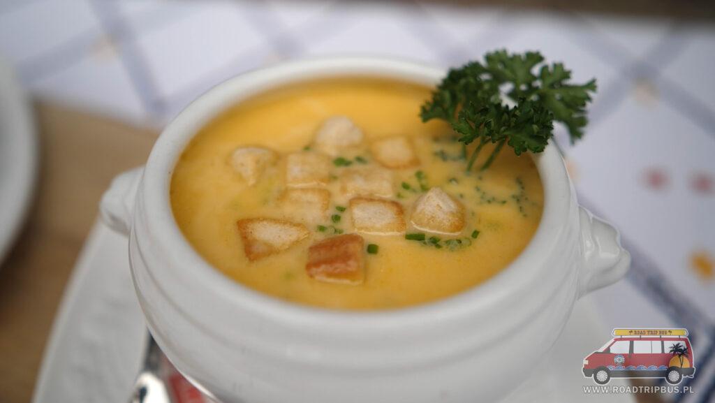 serowa zupa