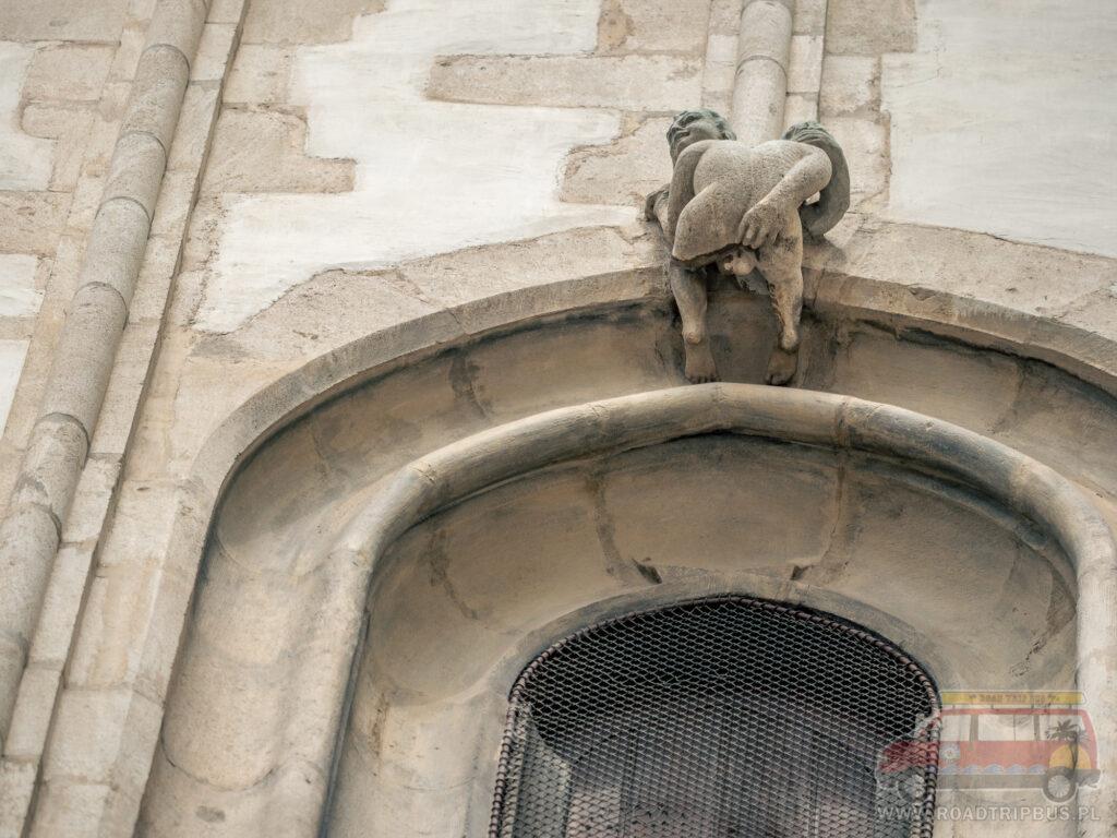 dupa na kościele św. Jakuba