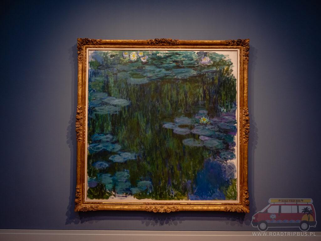 lilie wodne obraz Claude Moneta