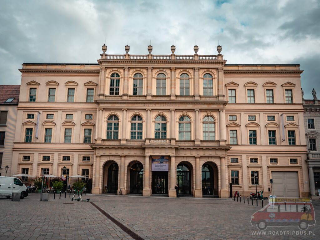 pałac barberini w podczamie