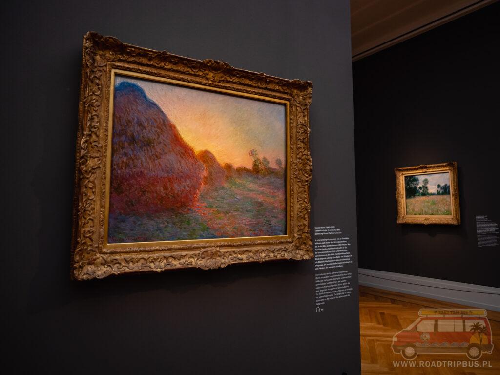 obraz stogi Moneta