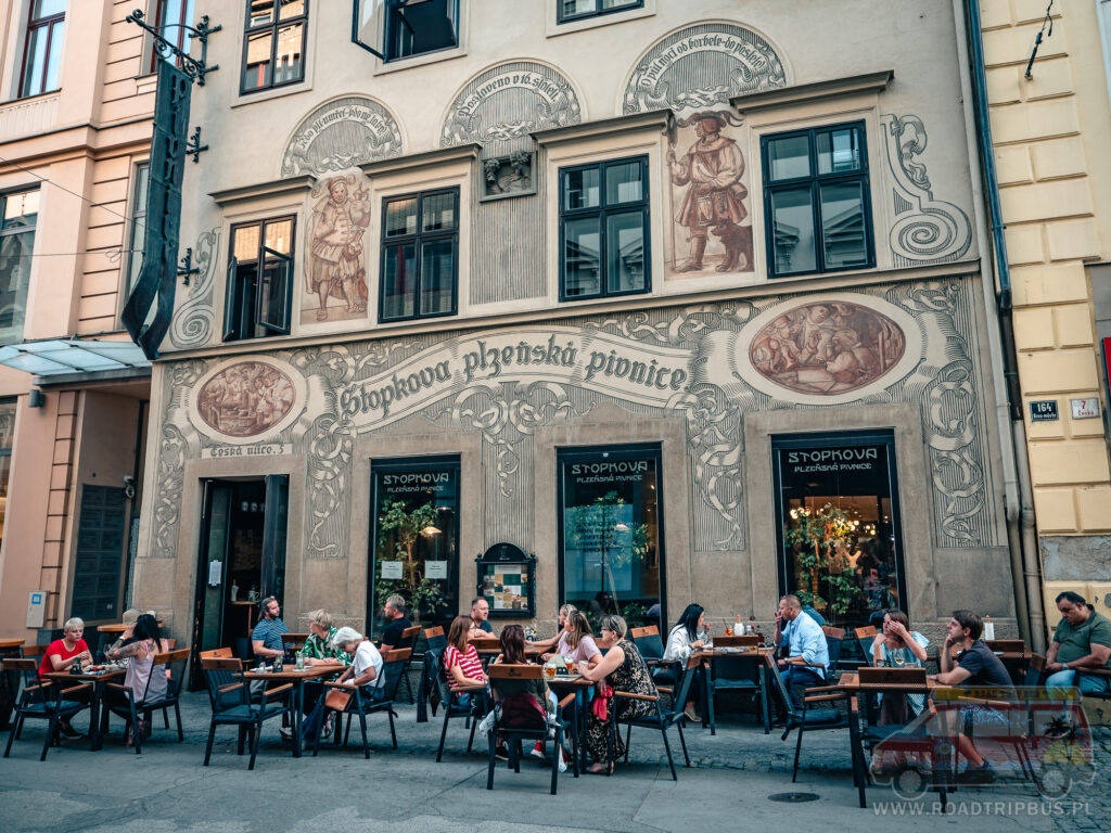 restauracja Stopkova w Brnie