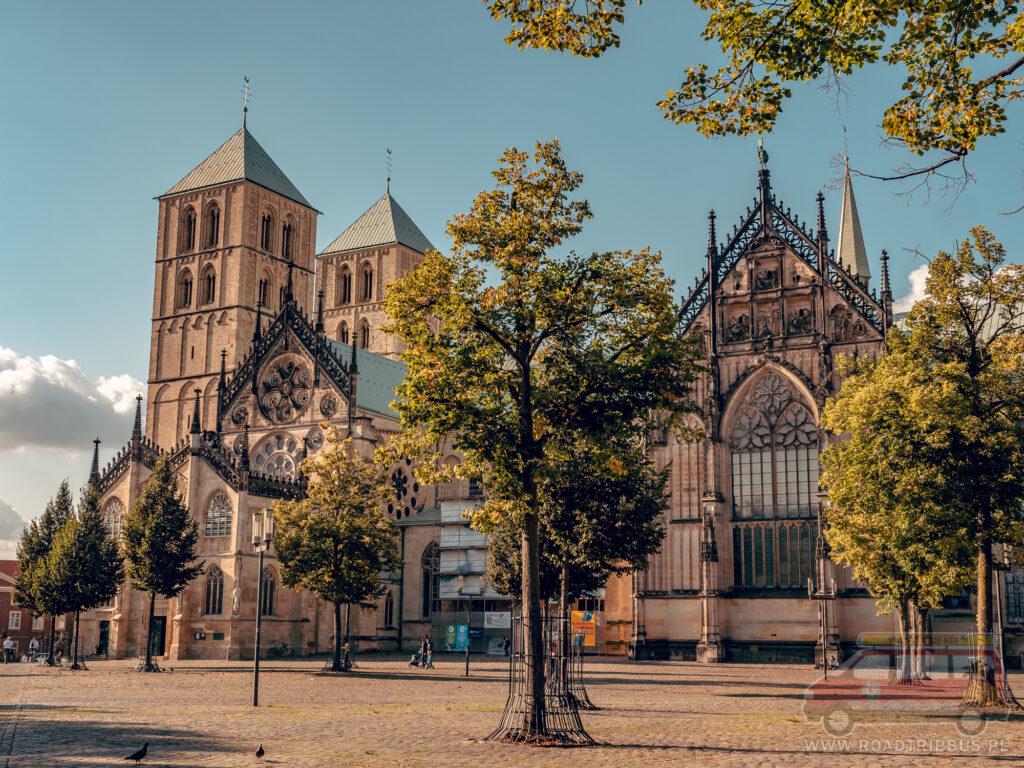katedra w munster zwiedzana z dołu