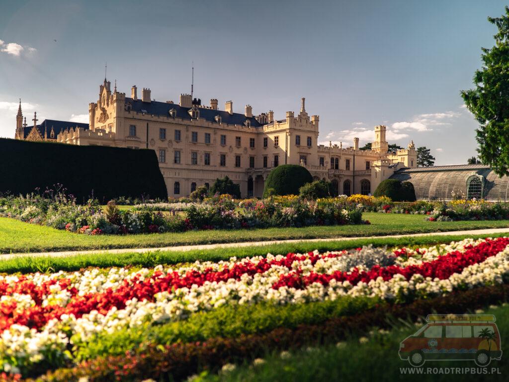 pałacowe ogrody