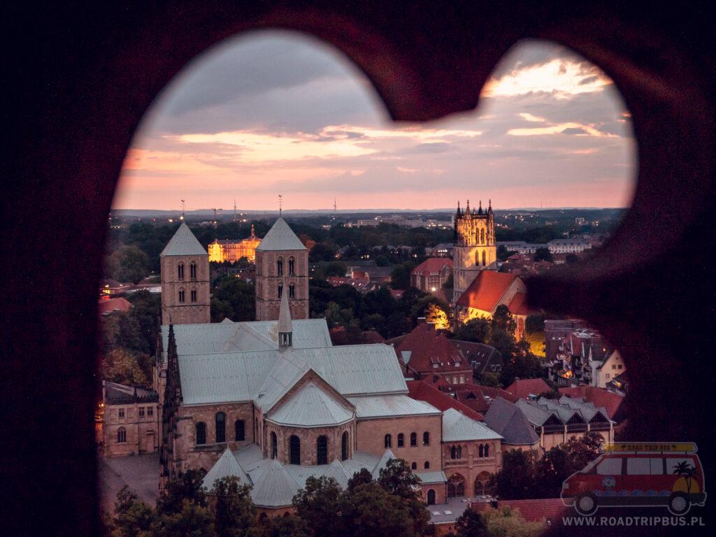 katedra w munster widziana z góry